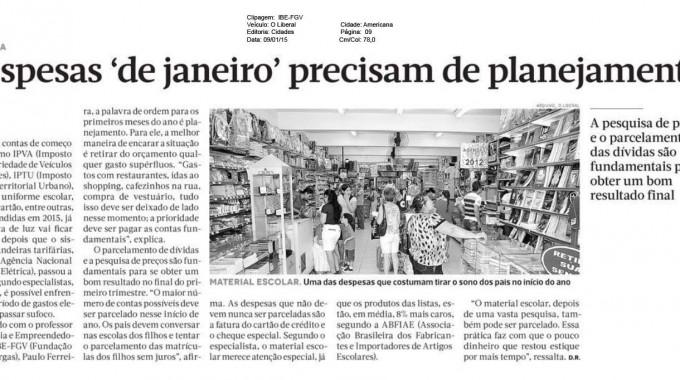 Professor Da IBE Fala Sobre Necessidade Do Planejamento Das Contas Para Janeiro