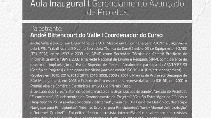 IBE Conveniada FGV Campinas Realiza Aula Inaugural Sobre Gerenciamento Avançado De Projetos