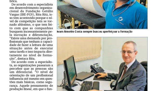 Gazeta De Piracicaba – Profissionalização Do Chão De Fábrica
