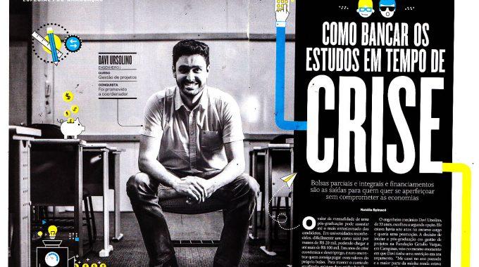 Davi Ursolino, Aluno IBE Conveniada FGV Em Entrevista Na Revista Época