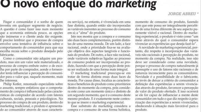 Novo Enfoque Do Marketing