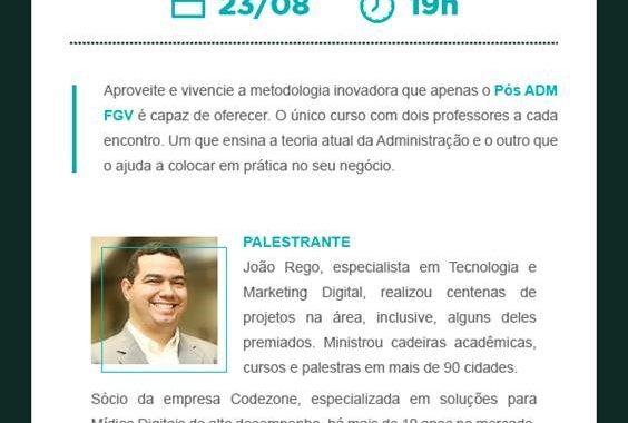 Aula Inaugural Aberta Ao Público Na IBE Conveniada FGV Jundiaí Aborda Visão Estratégica