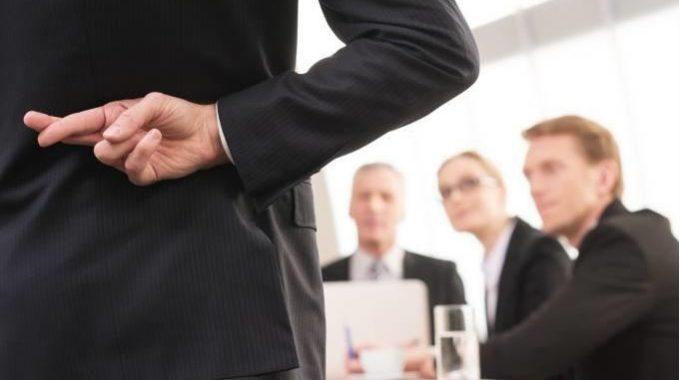 CEOs Que Mentem Têm Mais Dificuldade Para Escapar Da Demissão